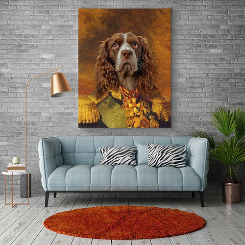 Image of general dog wall art portrait