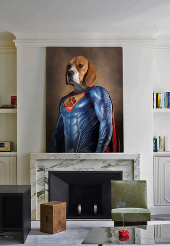 Image of SuperPet // Custom Pet Portrait