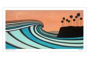 California Crescent Print - Joe Vickers Art