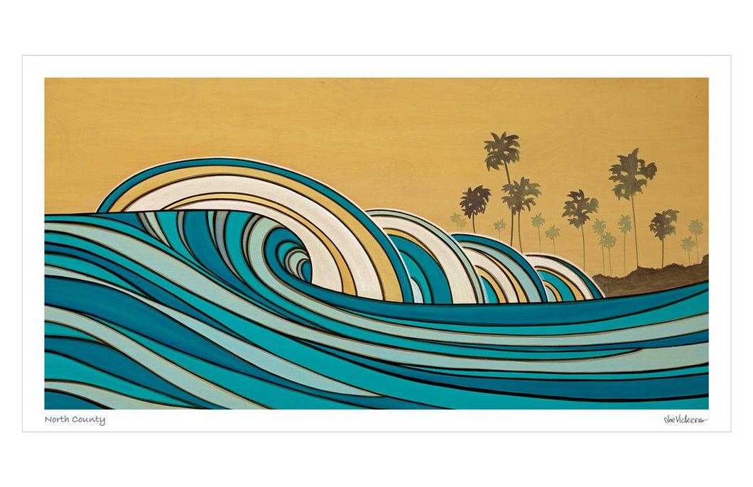 North County Print - Joe Vickers Art