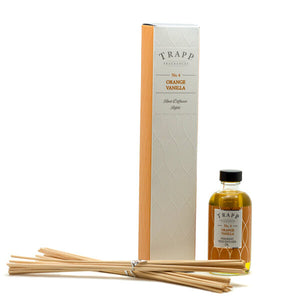 Orange Vanilla Reed Diffuser Kit/Refill