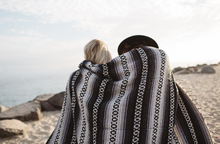 Load image into Gallery viewer, The Whitecap Beach Blanket - Gunn and Swain
