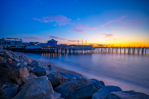 Tony's on the Pier Print - Greg Eimers Photography