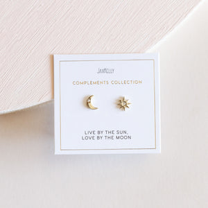 Sun & Moon Earrings - JaxKelly