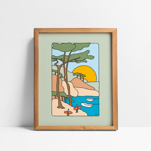 We're Out For Our Own fun Art Print - Alimofun