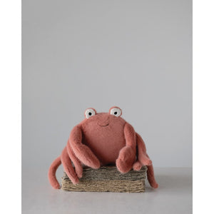 Plush Crab - Creative Co Op