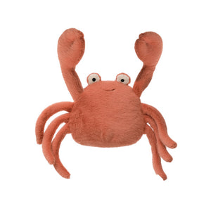 Plush Crab Stuffed Animal - Creative Co-Op