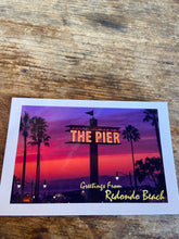 Load image into Gallery viewer, Redondo Beach Pier Postcard - Greg Eimers Photography
