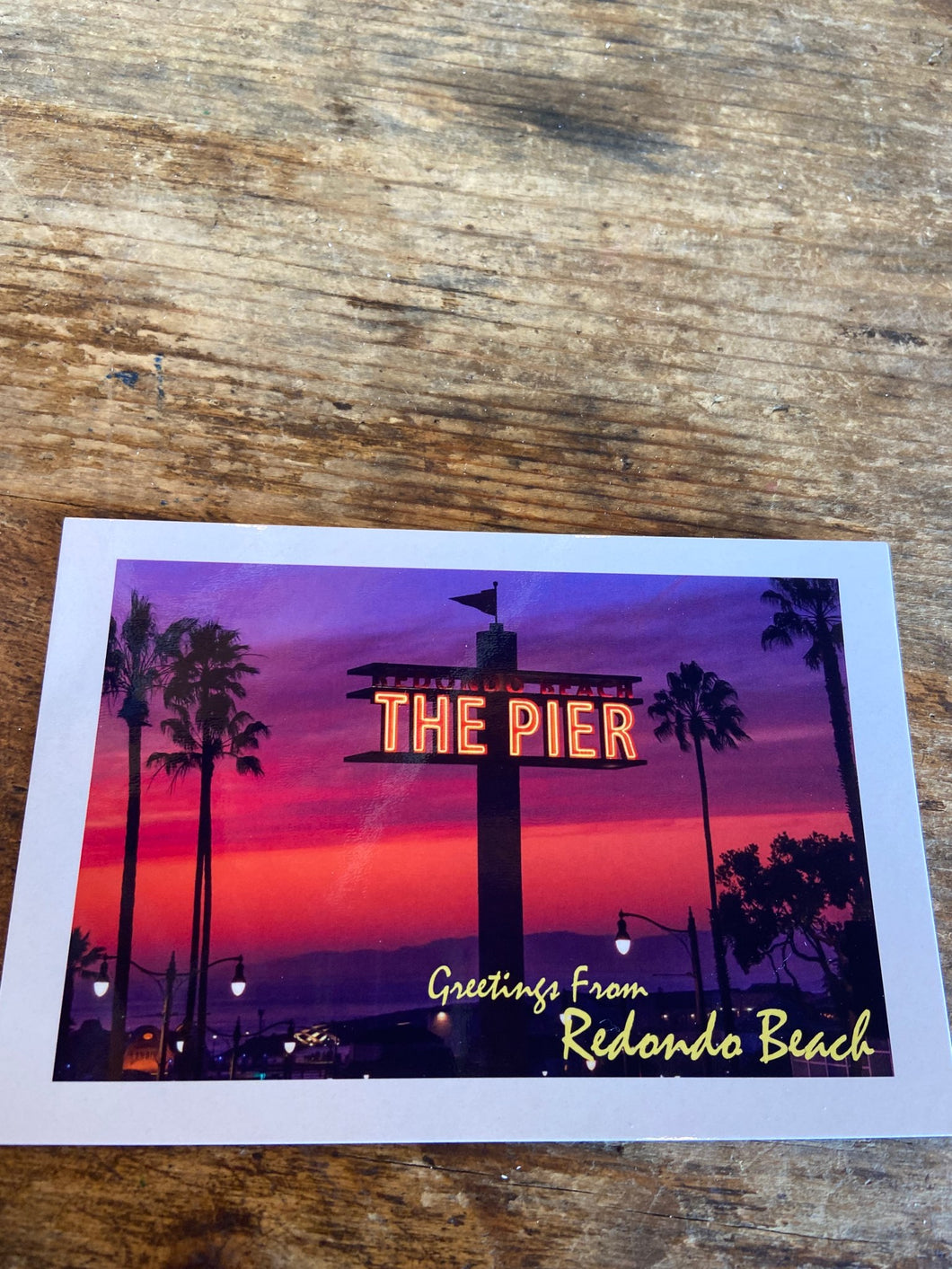Redondo Beach Pier Postcard - Greg Eimers Photography
