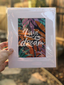 Livin the Dream Print - Pepa Ivanoff
