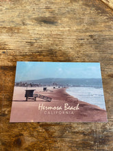 Load image into Gallery viewer, Hermosa Beach Lifeguard Postcard - Greg Eimers Photography
