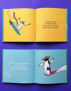 The Surfing Animals Book - Jonas Claesson