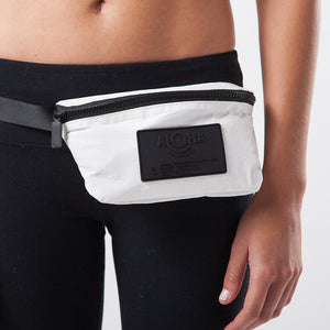 White Mini Hip Pack - Aloha Collection