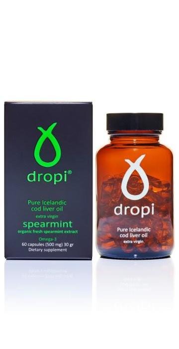 Dropi Spearmint - 60 Capsules