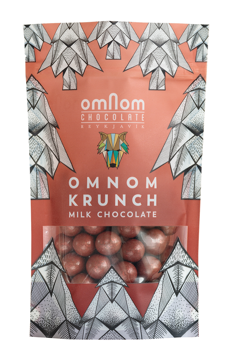 Milk Chocolate / Omnom Krunch