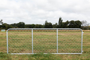 12ft Chain Link Cattle Gate (HDG)