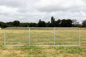 16ft Chain Link Cattle Gate (HDG)