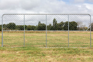 16ft Chain Link Deer Gate