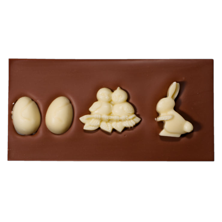 Easter Milk and White Chocolate Bar
