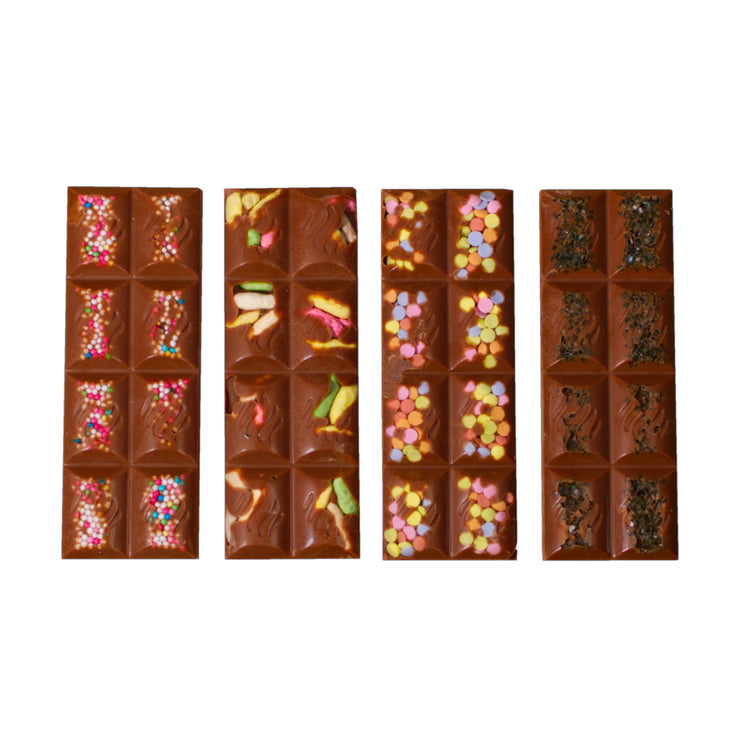 Sprinkly Milky 4pcs Slim Bars (150g)