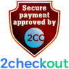 SECURE PAYMENT BY 2CHECKOUT