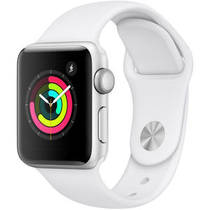 Apple Watch Series 2 - Aluminum Case Apple Watch Series 2 - Silver Apple Sport Watch 42mm