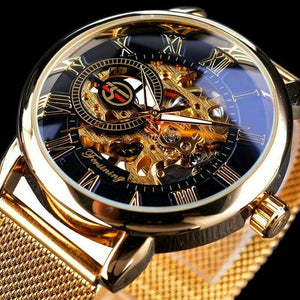 Men's Stainless Steel Watch - Mens Luxury Wristwatch - Luxury Mens Watches