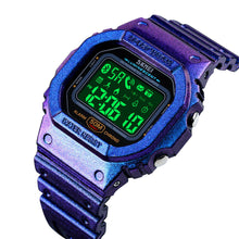 Load image into Gallery viewer, Women Sports Watch  Calorie Pedometer Square Smart Reminder Watch