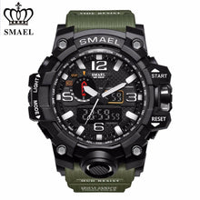 Load image into Gallery viewer, Men's Military Watch - Men's Sport Watch - Mens Movement Watch - Men's Analog Digital