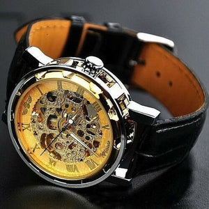 Men's Trendy Watches - Mens Gold Sports Watch - His Army Classic Watch
