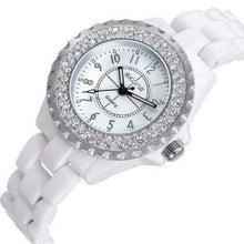 Load image into Gallery viewer, Women's Waterproof Watch - Womens Vintage Rhinestone Watch - Womens Rhinestone Watch