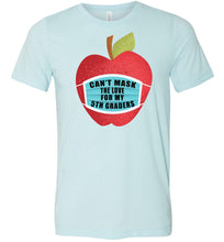 Load image into Gallery viewer, Can't Mask The Love - 5th Graders T-Shirt in Heather Ice Blue