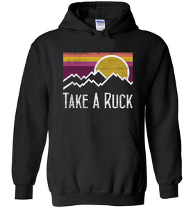 Take A Ruck Hoodie in Black