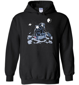 Space Force Astronaut Hoodie in Black