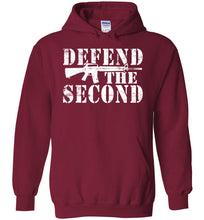 Load image into Gallery viewer, Defend the Second Hoodie in Cardinal Red