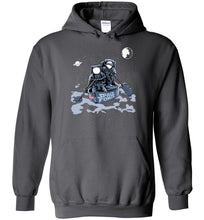 Load image into Gallery viewer, Space Force Astronaut Hoodie in Charcoal