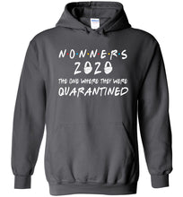 Load image into Gallery viewer, Quarantined Nonners Hoodie in Charcoal