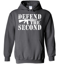 Load image into Gallery viewer, Defend the Second Hoodie in Charcoal