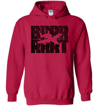 Load image into Gallery viewer, A-10 Warthog BRRRRT Hoodie in Cherry Red