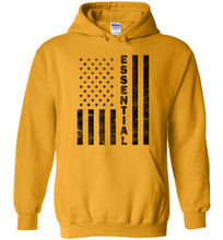 Load image into Gallery viewer, Essential Employee Flag Hoodie in Gold