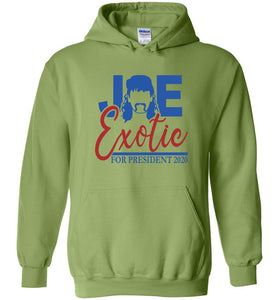 Joe Exotic for President Hoodie in Kiwi
