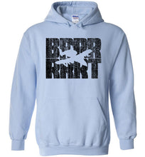 Load image into Gallery viewer, A-10 Warthog BRRRRT Hoodie in Light Blue