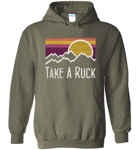 Take A Ruck Hoodie in Military Green