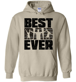 Best Dad Ever Hoodie in Sand