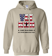 Load image into Gallery viewer, Knee Pain Vet Bod Hoodie in Sand