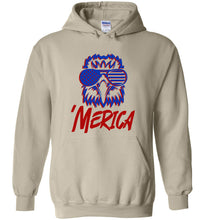 Load image into Gallery viewer, Spiked Merica Eagle Hoodie