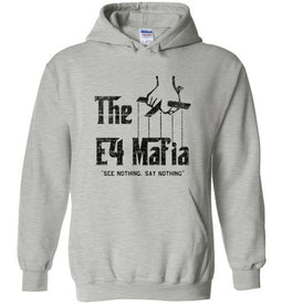 E-4 Mafia Hoodie in Sports Grey
