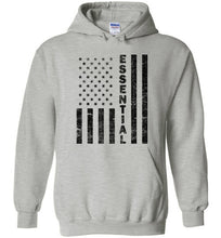 Load image into Gallery viewer, Essential Employee Flag Hoodie in Sports Grey