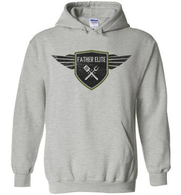 Father Elite Hoodie in Sports Grey