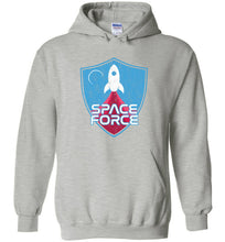 Load image into Gallery viewer, Space Force Blast Off Hoodie in Sports Grey